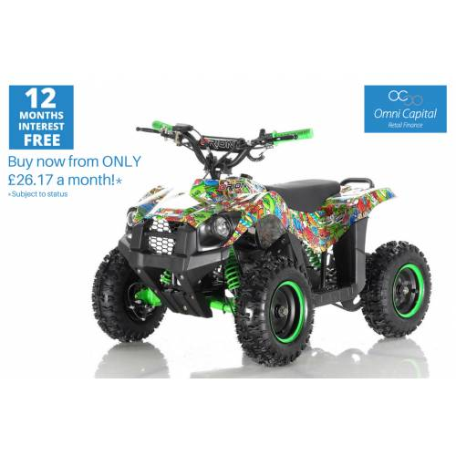 1000w 'Monster' Electric Kids Quad - Fully Assembled & Quality Tested
