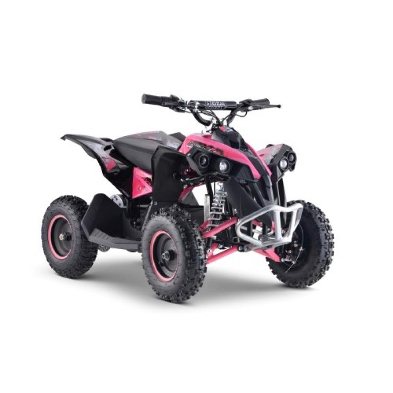 1000w Renegade 36v Kids Electric Quad Bike - Pink