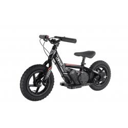 "100w Kids Electric Balance Bike - Black 12"" Wheels"