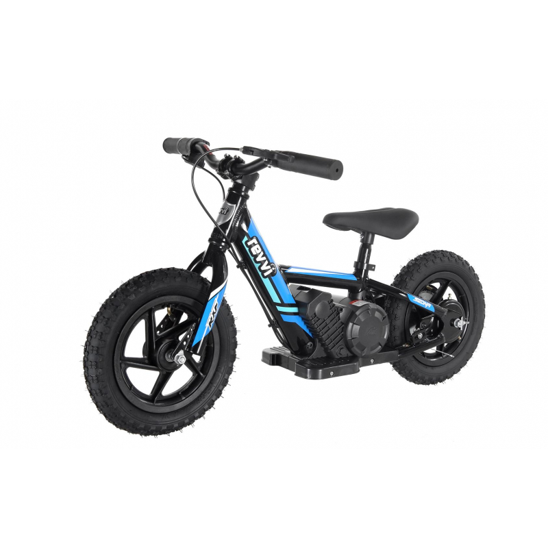 "100w Kids Electric Balance Bike - Blue 12"" Wheels"