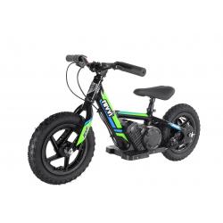 "100w Kids Electric Balance Bike - Green 12"" Wheels"
