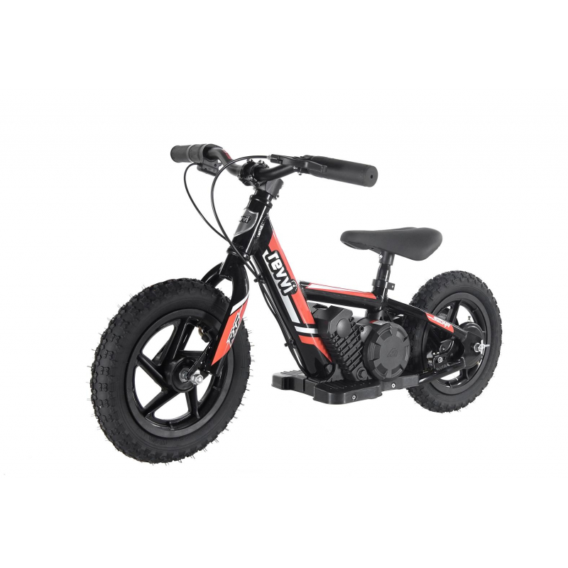 "100w Kids Electric Balance Bike - Orange 12"" Wheels"