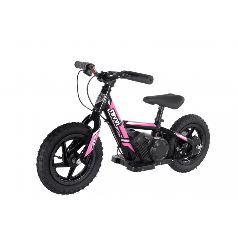 "100w Kids Electric Balance Bike - Pink 12"" Wheels"