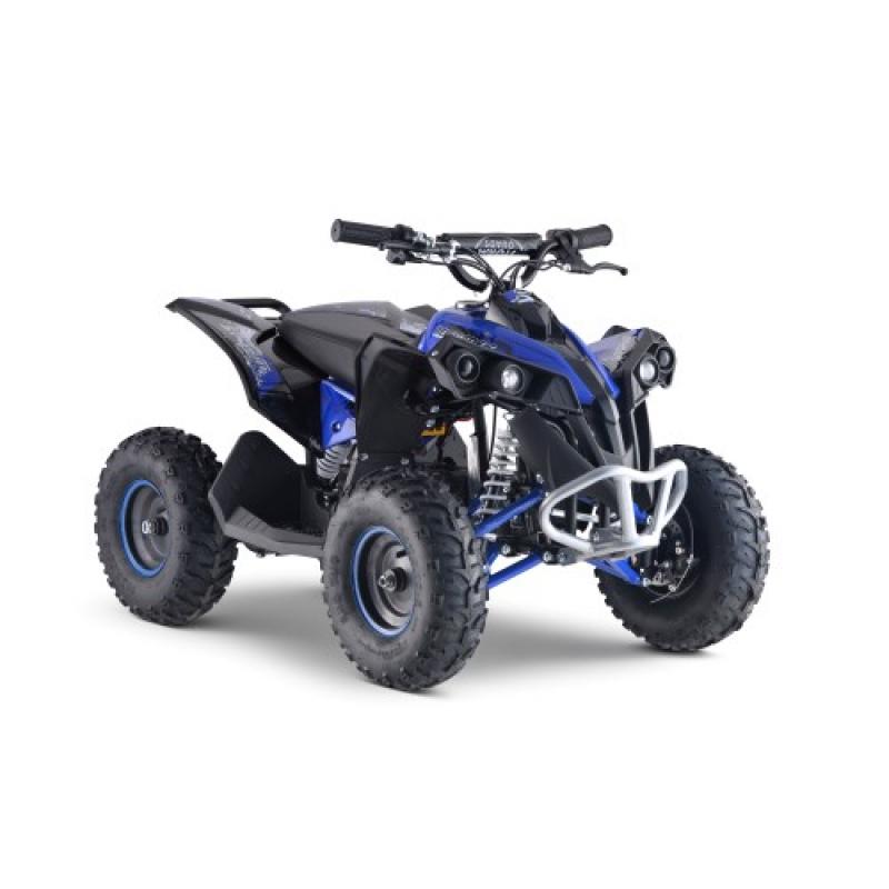 1100w Renegade 48v Kids Electric Quad Bike - Blue