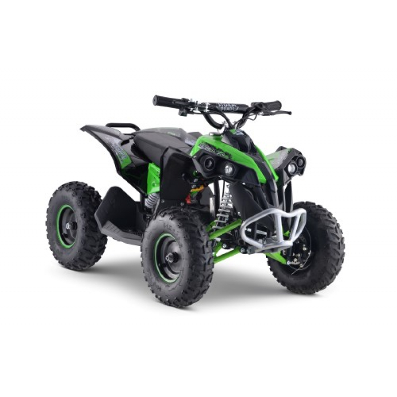 1100w Renegade 48v Kids Electric Quad Bike - Green