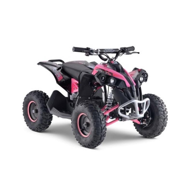 1100w Renegade 48v Kids Electric Quad Bike - Pink