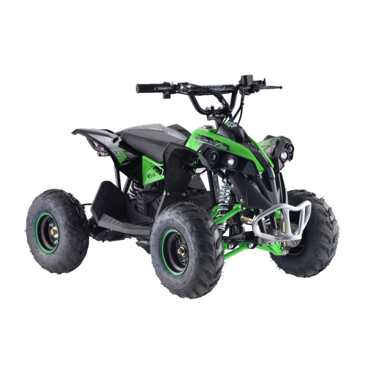 1200w Renegade 48v Kids Electric Quad Bike - Green
