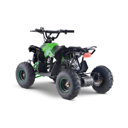 1200w Renegade 48v Kids Electric Quad Bike - Green