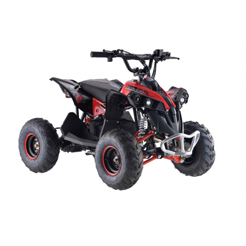 1200w Renegade 48v Kids Electric Quad Bike - Red