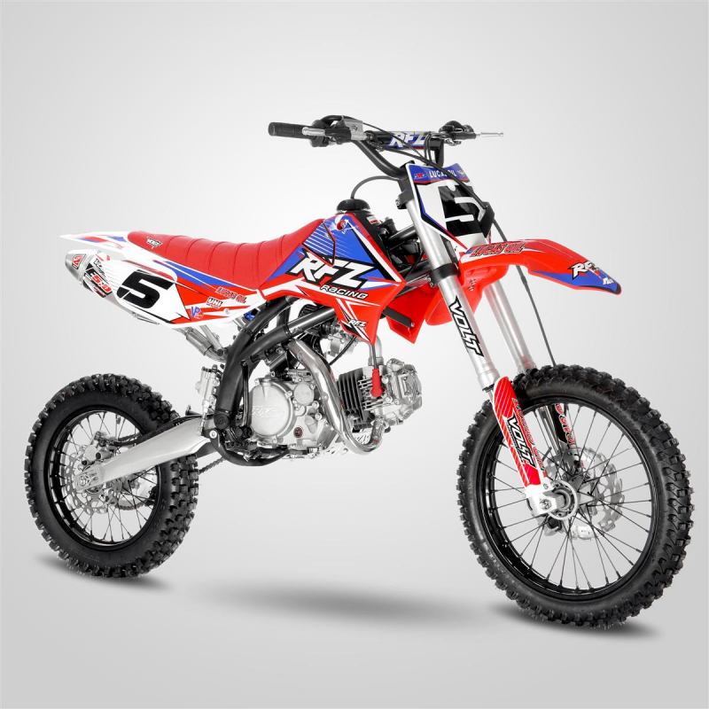 "Red 140cc RFZ RACING™ Big Wheel 17/14"" Dirt Bike"