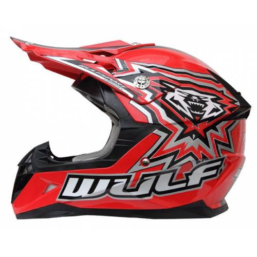 WULFSPORT JUNIOR FLITE-XTRA HELMET - RED