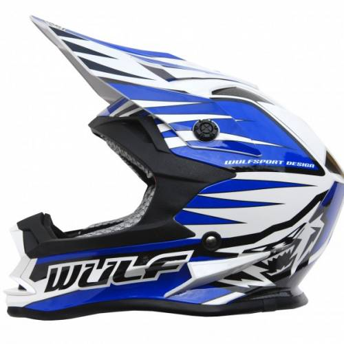 Wulfsport Cub Advance Helmet - Blue