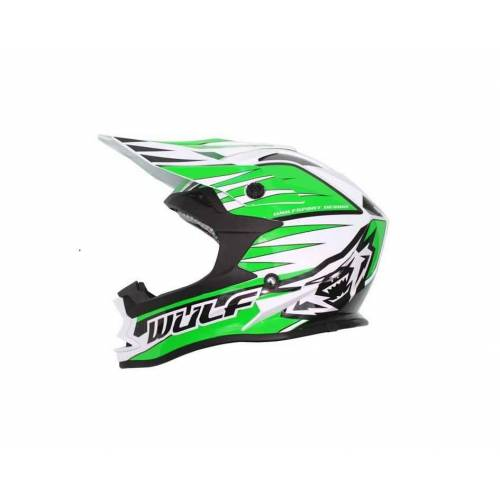 Wulfsport Adults Advance Helmet - Green