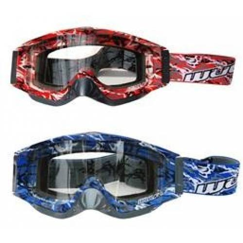 Wulfsport Adult Abstract Goggles for MX or Enduro