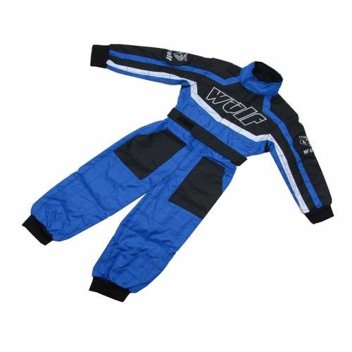 Wulfsport Cub Racing Suit - Blue