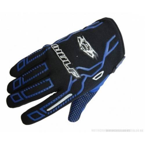 Wulfsport Cub Force MX Gloves Blue