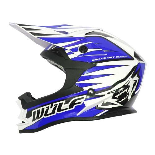 Wulfsport Adults Advance Helmet - Blue