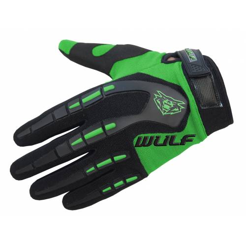 Wulfsport Cub Attack Gloves - Green