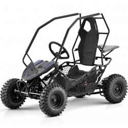 Black Kids Electric Off Road Buggy