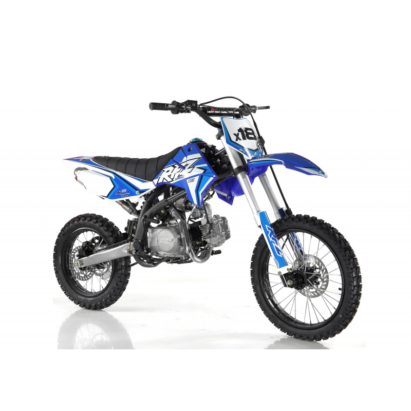 "Blue 140cc RFZ RACING™ Big Wheel 17/14"" Dirt Bike"