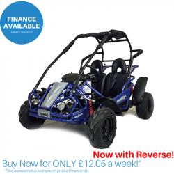 Blue Hammerhead™ Mudhead™ Reverse 208R Junior Off Road Buggy