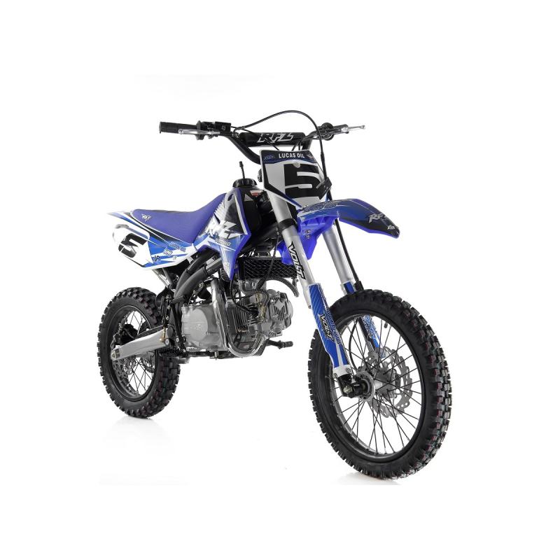 "Blue Jaguar 140cc RFZ RACING™ Big Wheel 17/14"" Dirt Bike"