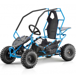 Blue Kids Electric Off Road Buggy