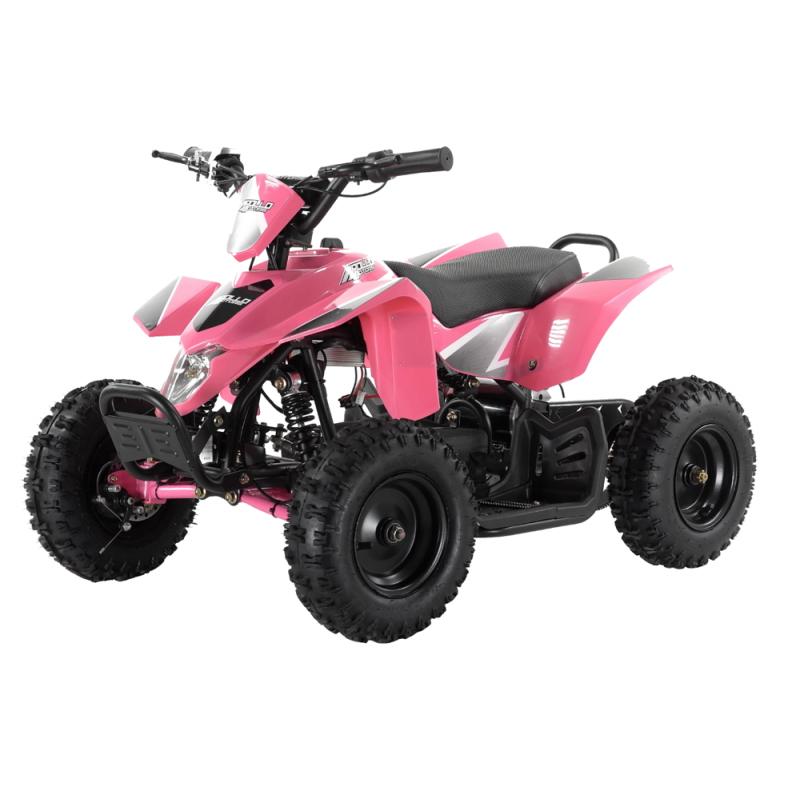 BUNDLE DEAL! Pink Puma 1000w Kids Electric Mini Quad - Fully Assembled & Tested