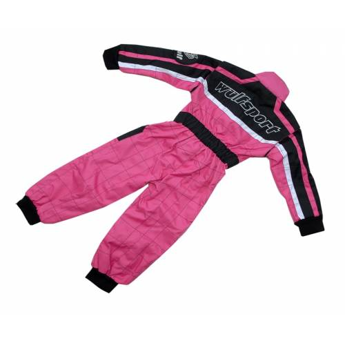 Wulfsport Cub Racing Suit - Pink