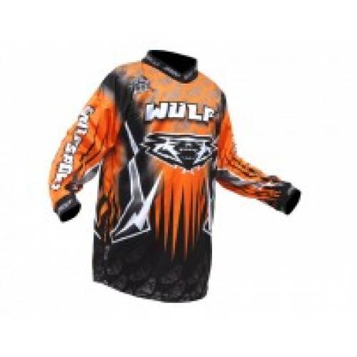 NEW 2016 Wulfsport Cub Arena Race Shirt - Orange