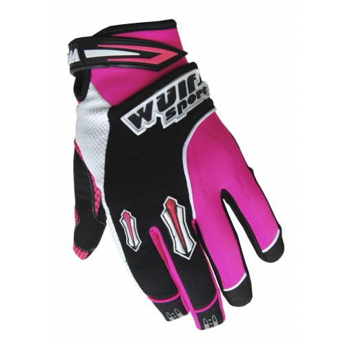 Wulfsport Cub Stratos MX Gloves Pink