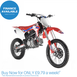 "Freeride 190cc RXF Racing™ Adults Dirt Bike - 19""/ 16"""