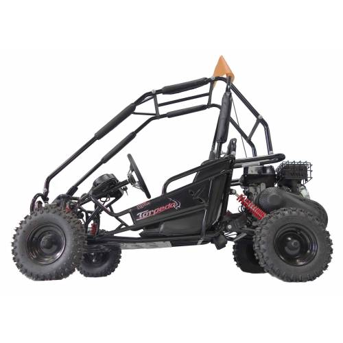 Fully Assembled - Hammerhead Torpedo Kids Off Road Buggy. Black