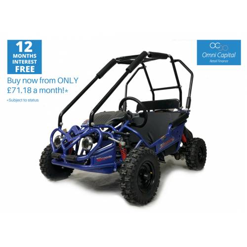 Fully Assembled - Hammerhead Torpedo Kids Off Road Buggy. BLUE