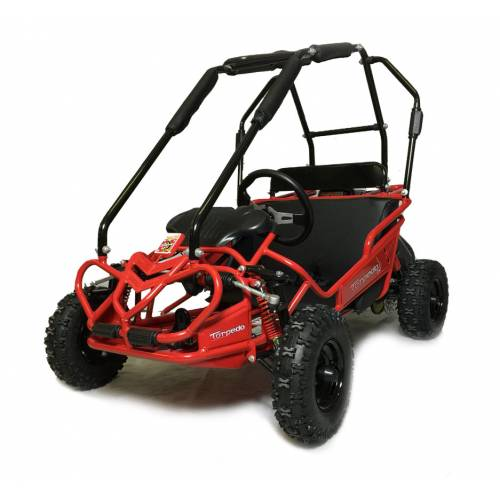 Fully Assembled - Hammerhead Torpedo Kids Off Road Buggy. RED