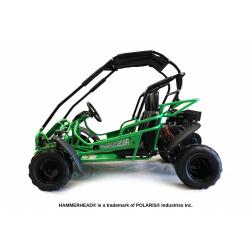 Green Hammerhead™ Mudhead™ Reverse 208R Junior Off Road Buggy
