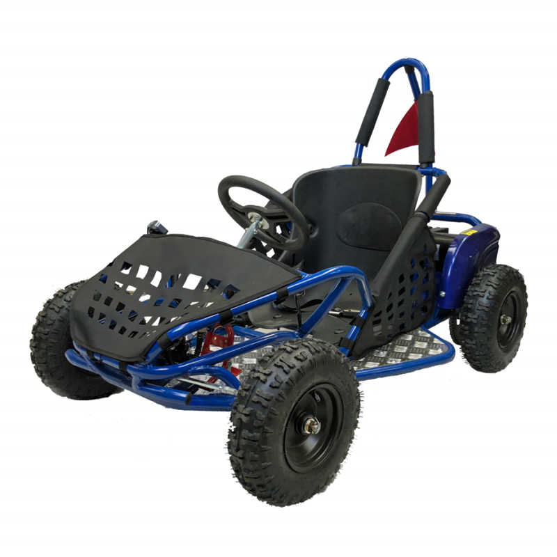 Kids 1000w Electric Off Road Go Kart - Blue