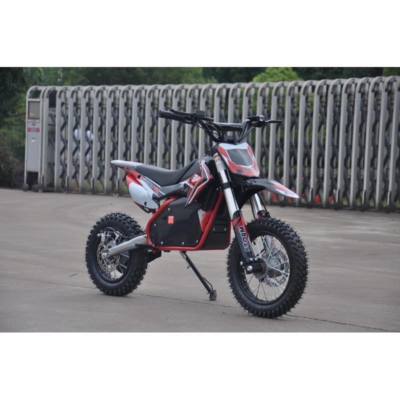 Kids 1200w 48v Electric Dirt Bike 12/10 - Red