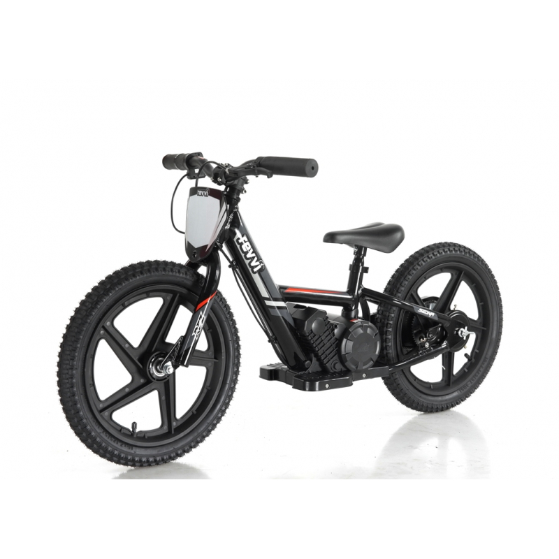 Kids 170w Electric Balance Bike - Revvi Sixteen - Black
