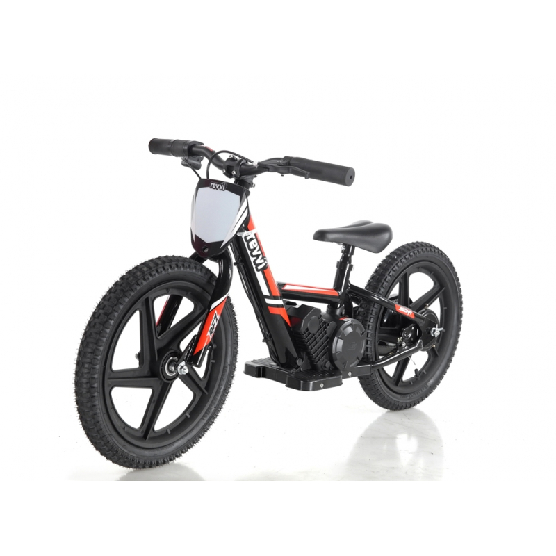 Kids 170w Electric Balance Bike - Revvi Sixteen - Red