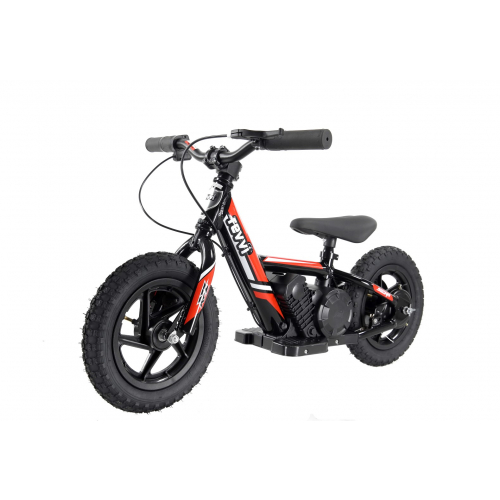 "100w Kids Electric Balance Bike - Red 12"" Wheels"