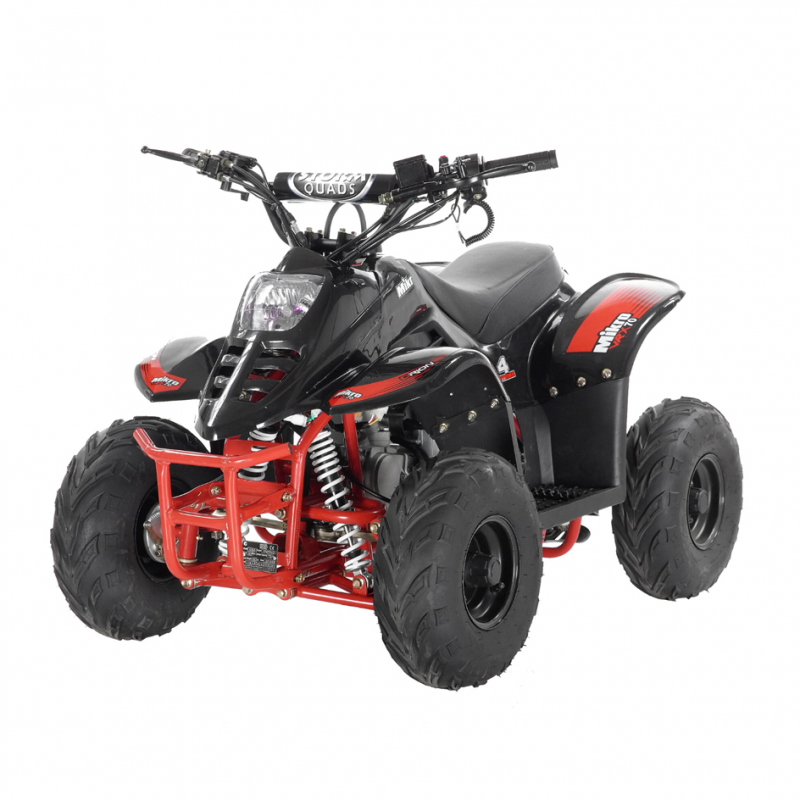 Mikro 70cc Kids Quad Bike Black