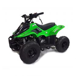 Mikro 70cc Kids Quad Bike Green