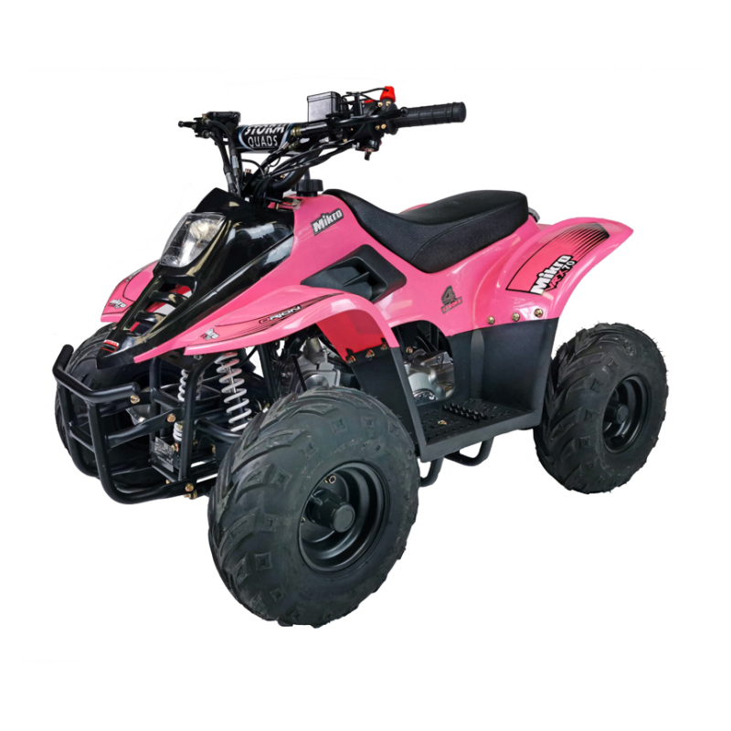 Mikro 70cc Kids Quad Bike Pink