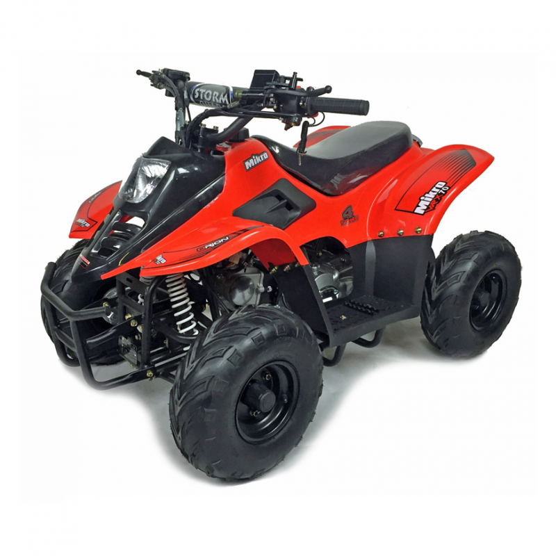 Mikro 70cc Kids Quad Bike Red