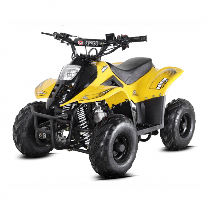 Mikro 70cc Kids Quad Bike Yellow