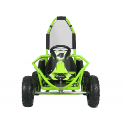 Mud Monster 1000w 20ah 48v Kids Electric Go Kart - Green