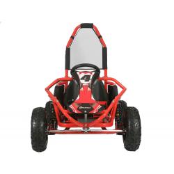 Mud Monster 1000w 20ah 48v Kids Electric Go Kart - Red