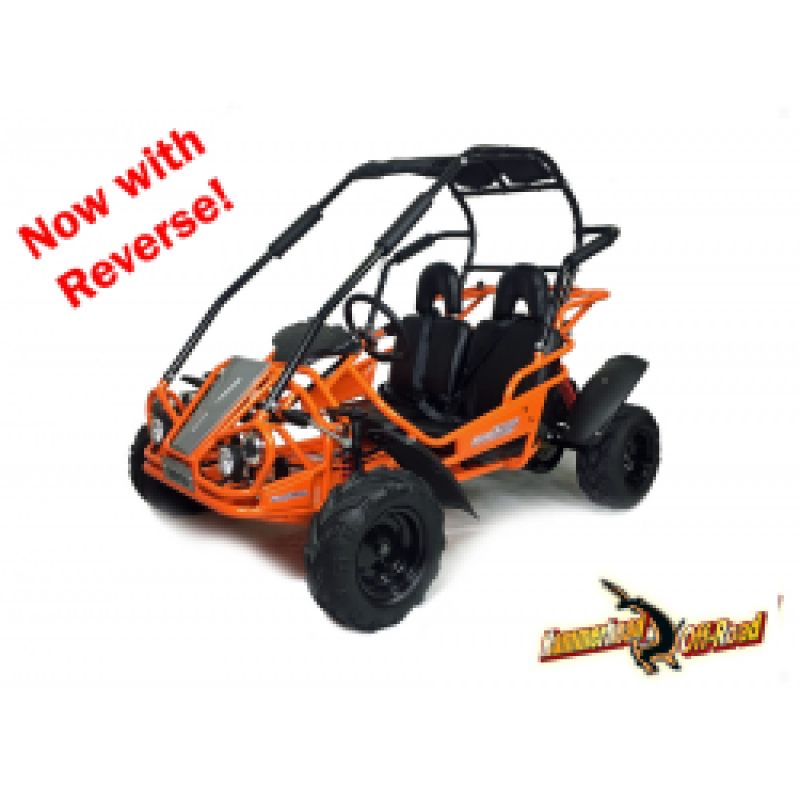 Orange - Green Hammerhead™ Mudhead™ Reverse 208R Junior Off Road Buggy