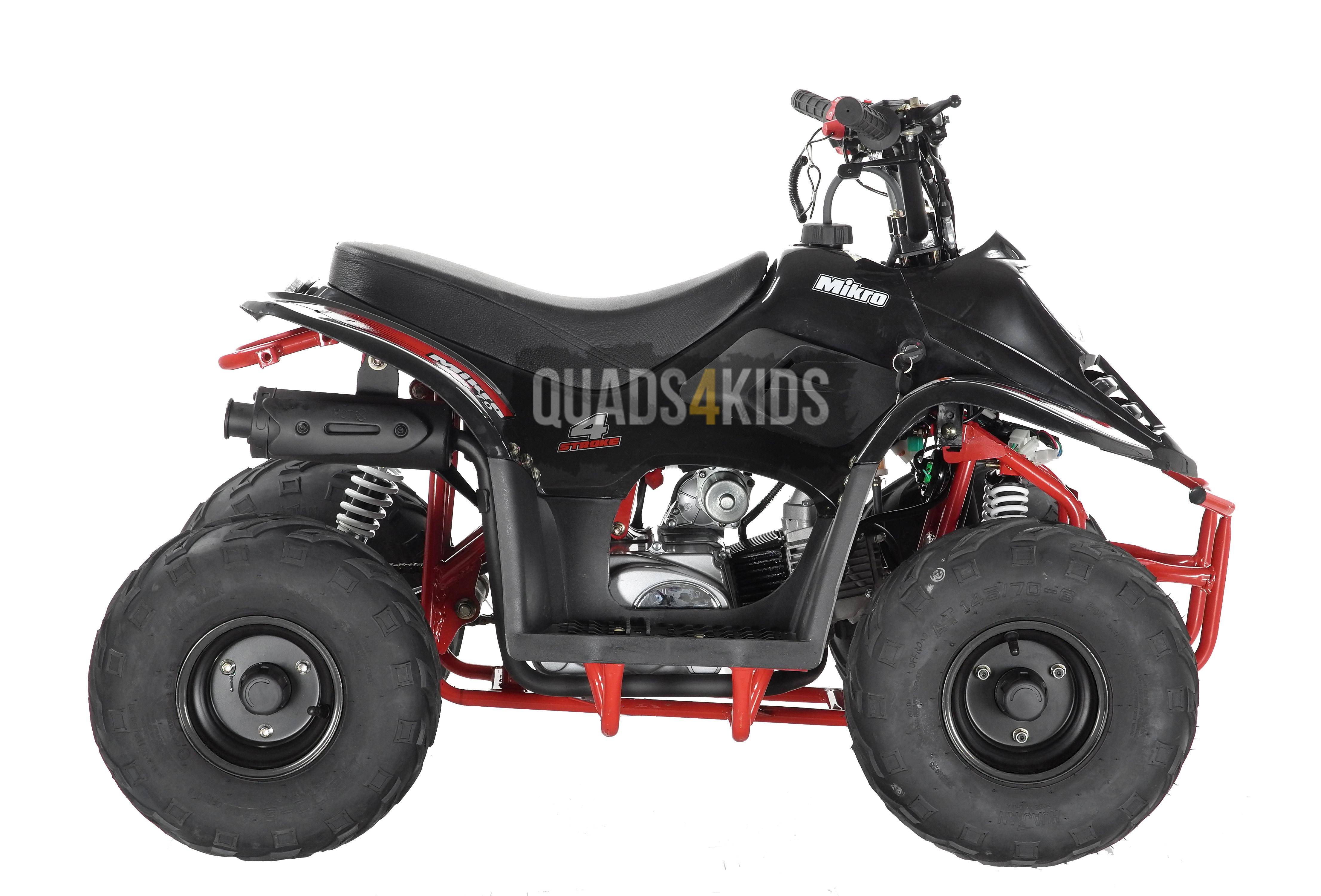 Orion Mikro 70cc Kids Quad Bike Black